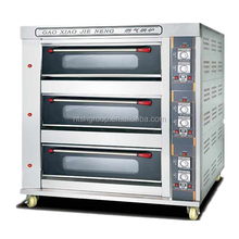 Commercial Gas Bakery Oven with Glass Observation Window