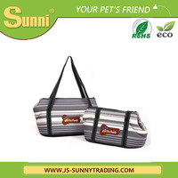High quality portable corduroy pet carrier bag