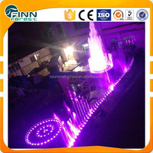 Automatic water curtain musical fountain water fountain parts
