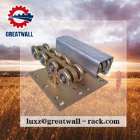 China Greatwall Cantilever Gate Carriage Wheel Heavy Duty sliding gate wheel for Sliding And Rolling Gates with factory price