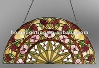 TF-2412 Tiffany Style Stained Glass Window Panel wall art decor