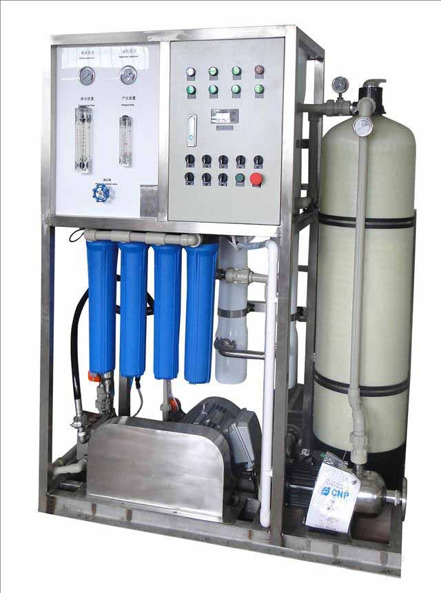 Guangzhou manufacturer salt water treatment plant with reverse osmosis filter