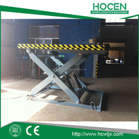 Used Car/ Heavy Duty Cargos Elevator Stationary Single, Double Scissor Lift Table