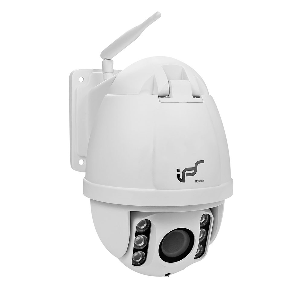 IPS Wireless Home Security Camera 4 x Optical Zoom Outdoor Surveillance Camera IR 120ft 960P HD High Speed Dome PTZ IP Camera
