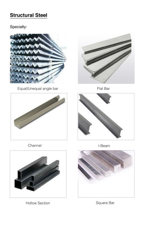 Structural steel Singapore