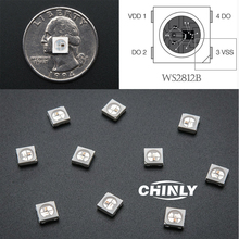 1000pcs WS2812B (4pins) LED Pixle Chip 5050 SMD White Version with Digital Individually Addressable