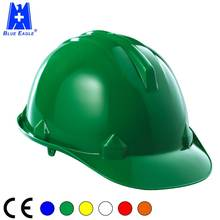 Blue Eagle Personal Work Protective Equipment EN397 HDPE Construction Safety Helmet