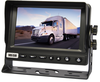 "5""Monitor with 4:3 Industrial Panel and IP69K Night vision Camera Surveillance System for Truck, Crane, Boat, Van"
