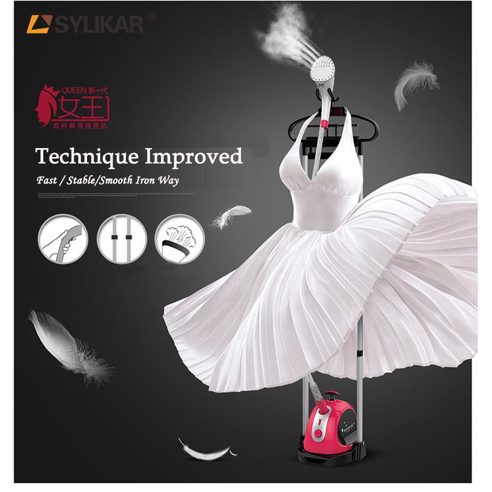 Hot sales home appliance professional plastic clothes standing steam iron station