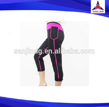 neoprene workout women sexy pants slim