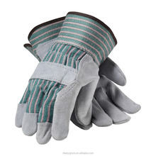 Short Cuff buffalo leather work gardening gloves