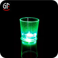 China Manufactured Rainbow Color 30ML Plastic Led Cup for Party