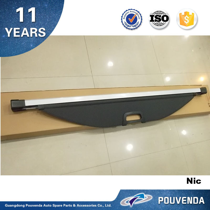 Trunk Cargo cover For Hyundai Santa fe IX45 2013+ Auto accessories from Pouvenda