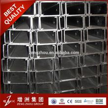 Hot selling x 2 steel channel for wholesales