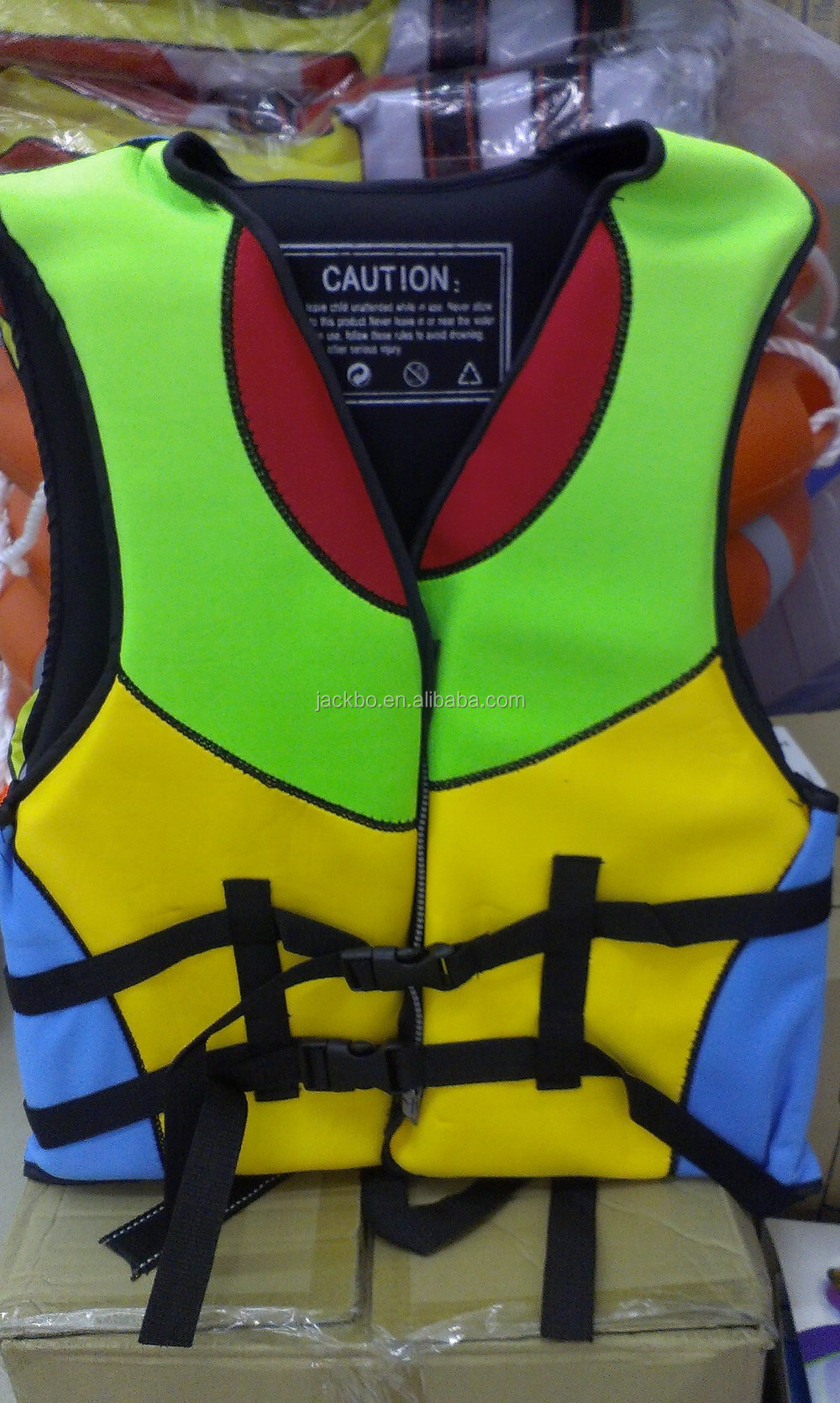 Swimming pool life protective floating equipment durable children/adult life jacket