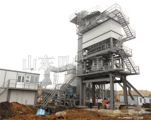 most powerful 120t/h hot Asphalt Mixing Plant with ISO of China