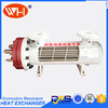 High Quality polished shell tube heat exchanger, Titanium evaporator marine, manufacture & supplier of heat exchanger