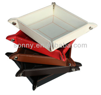 Stackable assorted styles money coin tray