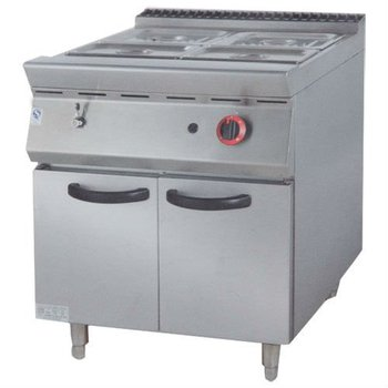 PK-JG-9842 Gas Bain Marie with Cabinet, 900 series, for Commercial Kitchen