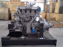 China supplier water cooled 4 stroke 6 cylinder diesel engine 6105zp