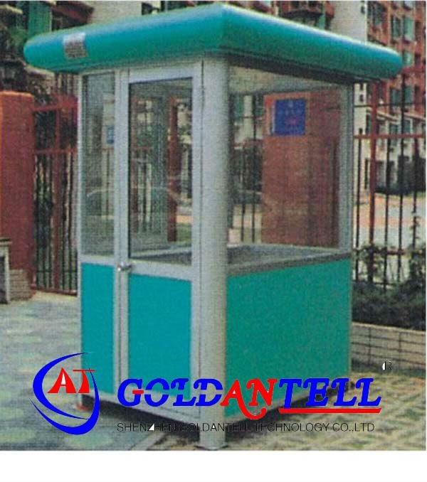 New style portable light steel bungalow steel house & mobile sentry box & police box