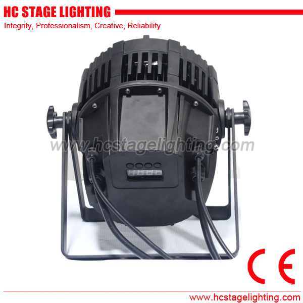 Waterproof 18x12w Rgbwa Uv Led Wash Par 64 Led Stage Lighting Buy Rgbwa Uv