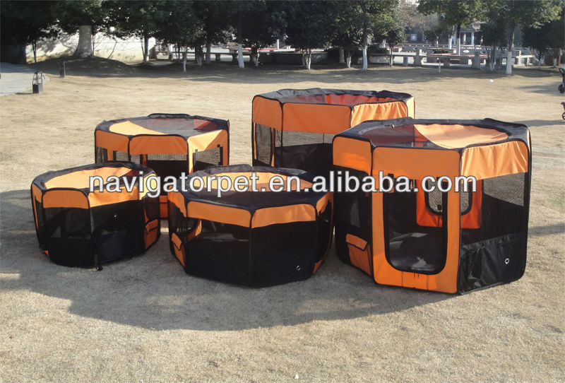 Folding Pet Playpen,Dog Playpen with Eight Panels