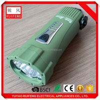 High demand import products hand dynamo waterproof flashlight