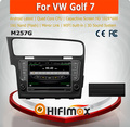 HIFIMAX 8 inch touch screen 1 din dvd for vw golf 7 car multimedia car dvd gps navigation system with Android quad cord 16G