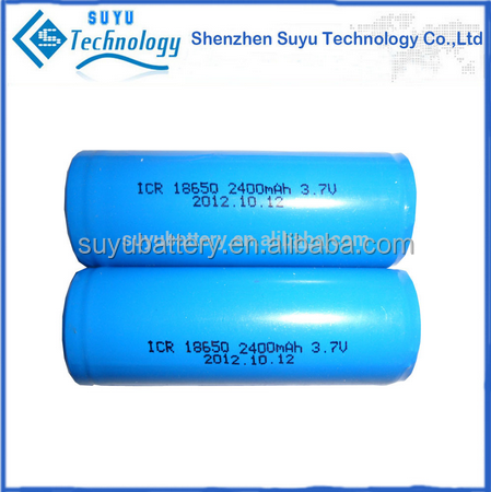 ICR18650 Cylindrical li ion rechargeable Battery/18650 battery 1200mah 1500mah