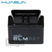 Newest Super Mini ELM327 Bluetooth OBD2 OBDII Bluetooth Adapter Auto Scanner OBDII interface ELM327 Diagnostic Cable