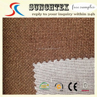 classic PU coated types of sofa material fabric