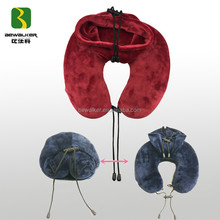Portable Folding U Shape Memory Foam Travel Neck Pillow