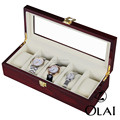 Wooden watch box 5 slots custom luxury watch packing box wholesale JZPB003