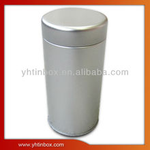 silver tin tea can custom