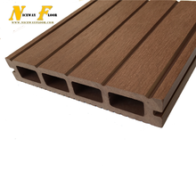 Eco forest Easy assemble ISO certificate hollow plastic wood composite wpc decking
