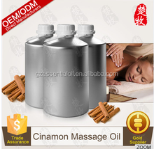 Natural Cinnamon Essential Oil 100%Pure For Aromatherpy Gold Supplier in Guangzhou
