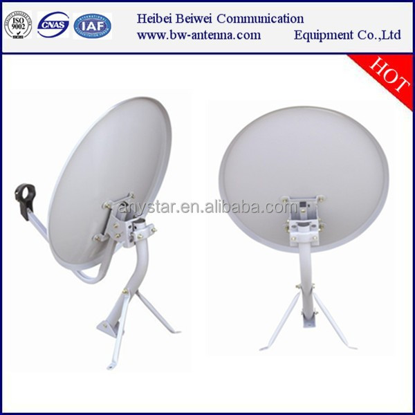 digital tv ku band 60cm satellite dish antenna