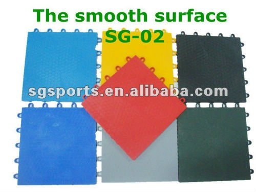 hot sales pp interlocking regulation outdoor removable volleyball/synthetic tennis sports flooring