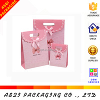alibaba custom recycled thin paper gift bags packaging
