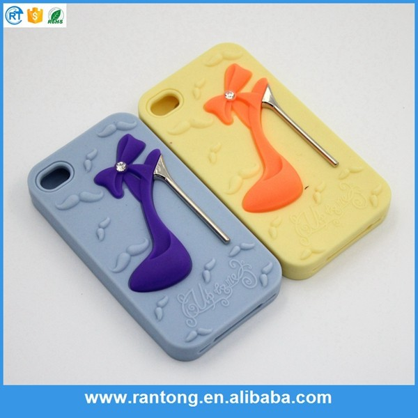 Hot selling simple design mesh silicone cell phone case 2015