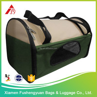 China wholesale 600D polyester trolley pet carrier / pet cage
