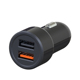 2018 New Qualcomm Car Quick Charge, Dual Usb Portable QC3.0 Car Charger