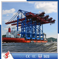 STS/QC ship to shore quayside container crane safty used for continer Yard and port