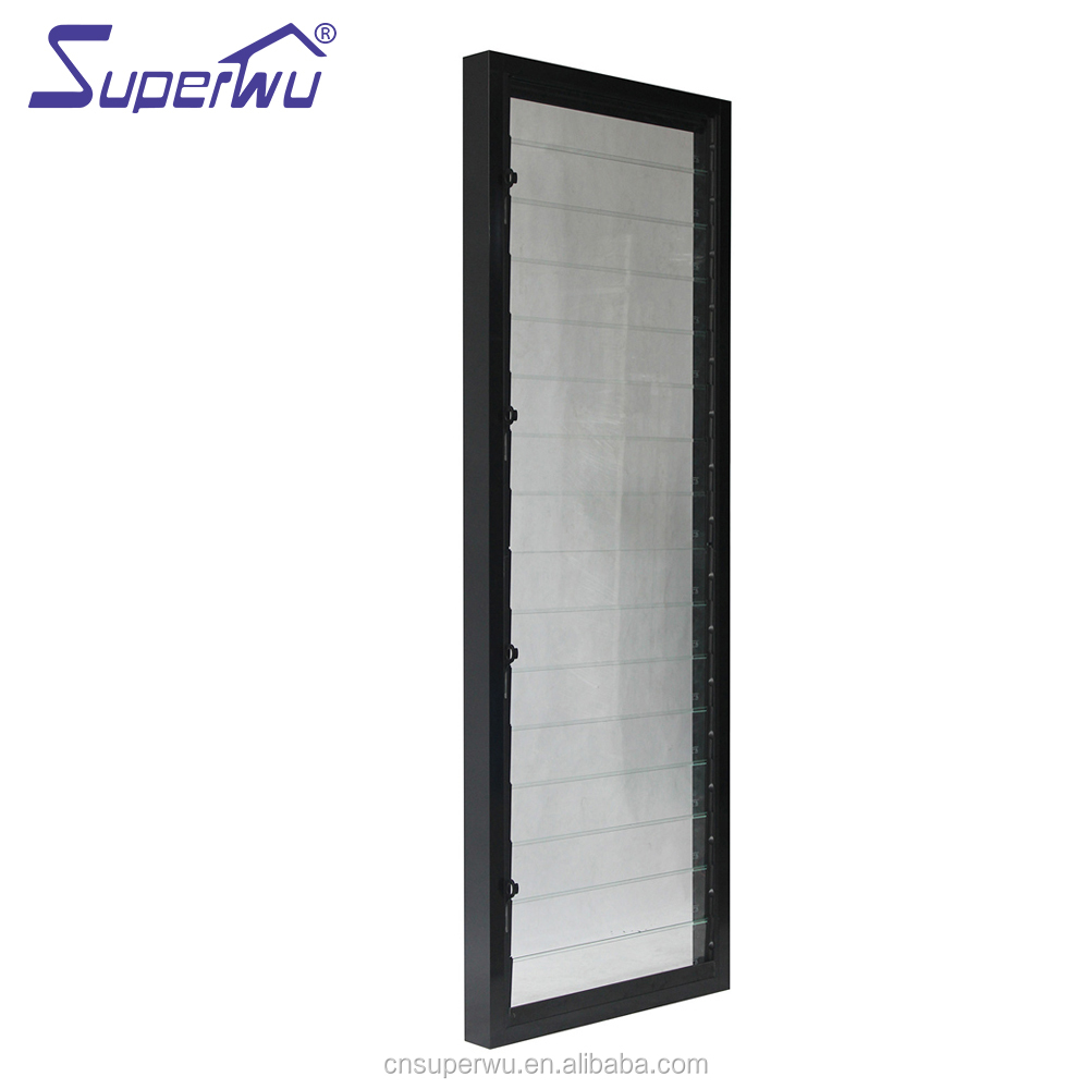 used building materials prefabricated houses residential aluminium window louvers glass louvre