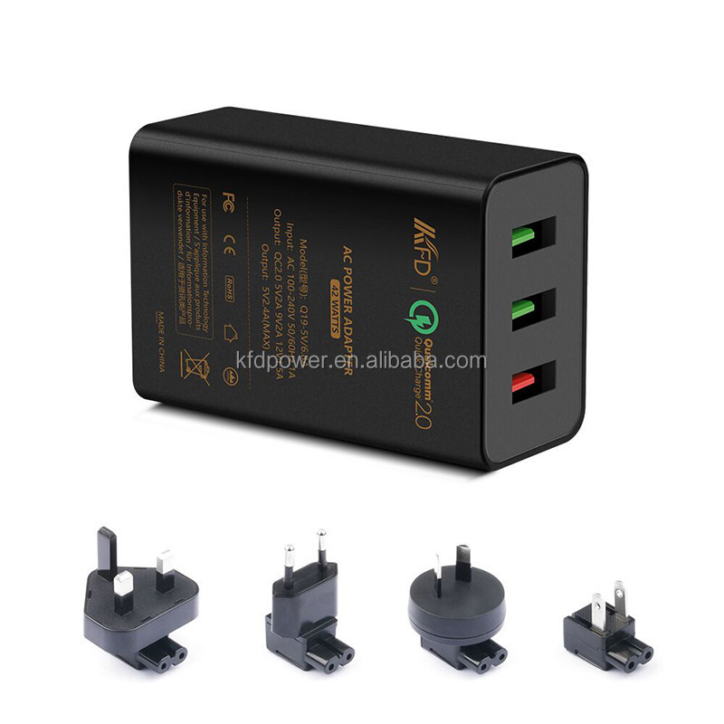 Qualcomm Quick Charge 2.0 USB Wall Charger