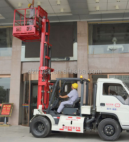 Lifting wrecker transportation 3 in 1 forklift truck
