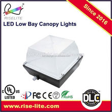 Manufacturer modern design high efficacy led low bay canopy fixture
