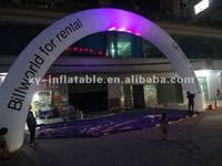 2012 inflatable arch with light