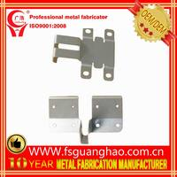 2016 New custom design zinc metal plated steel garage door part sheet metal forming/stamping/bending part